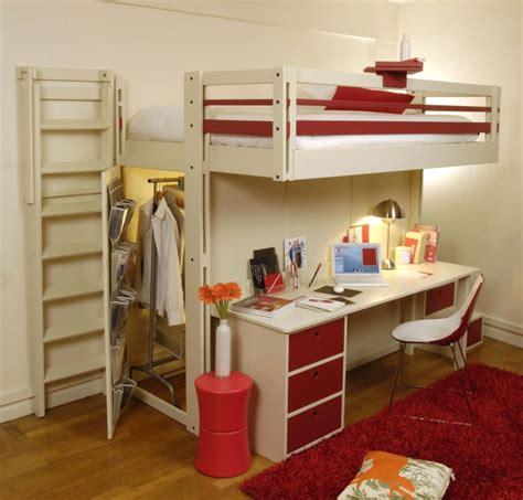 fly chambre adulte le lit mezzanine ou le lit supersposé quelle variante