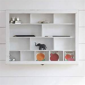 Furniture: Wall Mount White Wood Cabinet Shelves For