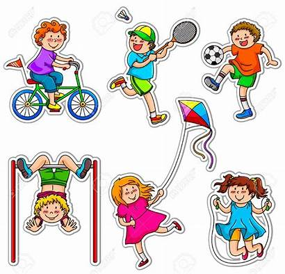 Sport Clipart Activity Character Cliparts Activities Doing