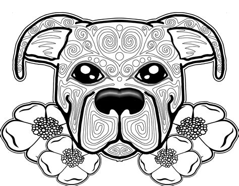 Best Of Cute Puppy Mandala Coloring Pages Gallery