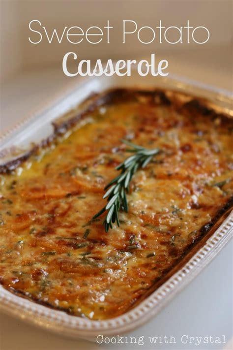 Savory Sweet Potato Casserole  I Heart Nap Time