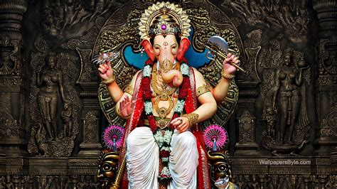 God Ganesh Wallpaper For Mobile Hd by Lalbaugcha Raja Ganapati Ganesh Chaturthi Hd Wallpaper