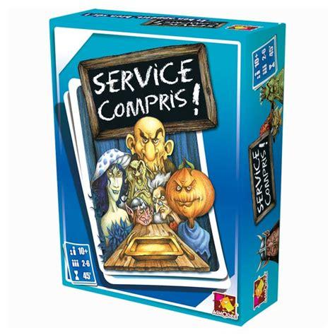 Service Compris by Service Compris Asmodee King Jouet Jeux De Cartes