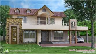 single story 4 bedroom house plans 4 bedroom two storey villa exterior kerala home design