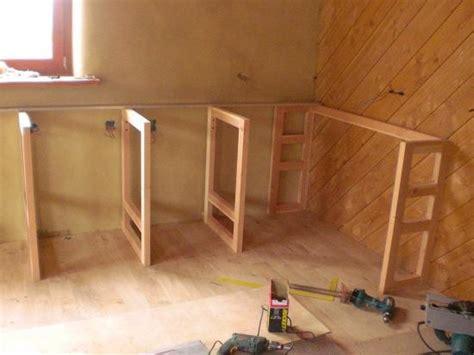fabriquer meuble de cuisine meuble de cuisine plan de travail plan de travail beton