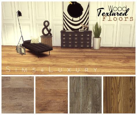 wood textured floors set   sims luxury sims  updates