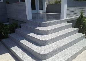Revetement Escalier Exterieur : rev tement poxy escalier ext rieur avec patio atelier ~ Premium-room.com Idées de Décoration