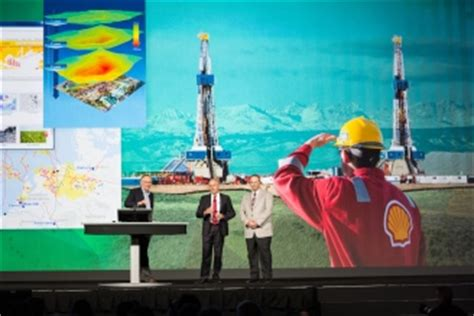 royal dutch shell relies  gis   decisions related  business opportunities  challenges