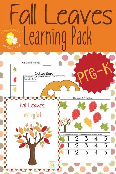 preschool leaf theme math and literacy printables 601 | d759f83ac9e5760add6b75a762d6d237 preschool learning activities preschool writing