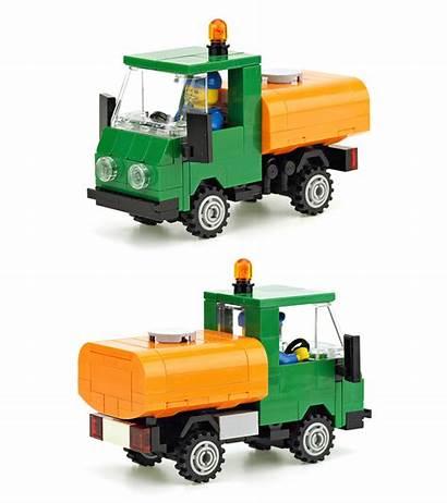 Truck Tanker Moc Multicar Lego Marco Instructions