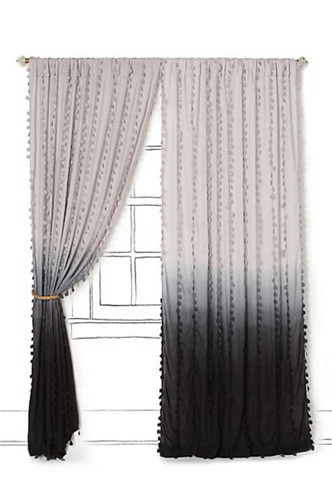 wavering ombre curtain anthropologie