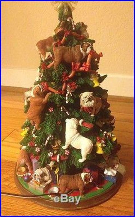 bulldog tree the danbury mint vintage porcelain