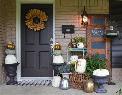Decorating Themes : Cute Halloween Front Porch Decorations To Greet Your Guests