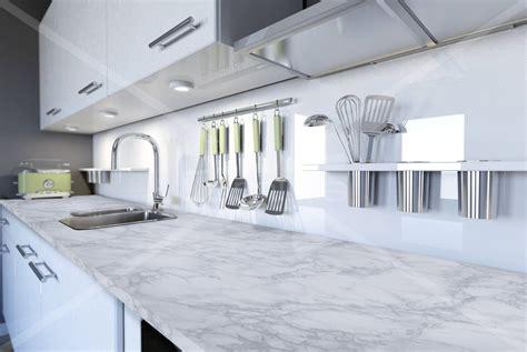 adhesif plan de travail adh 233 sif plan de travail marbre blanc brillant marbre 2800 luminis