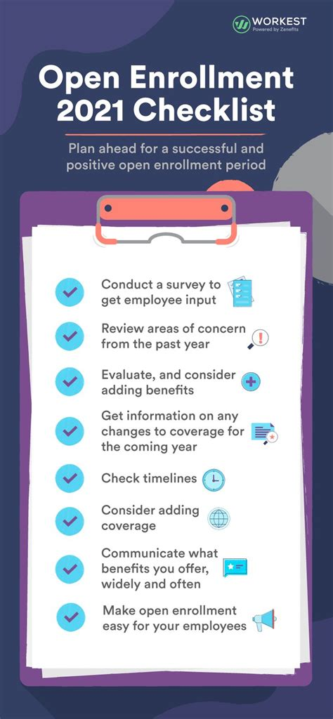 In 2021, we will start seeing a few insurers adopt these new approaches at scale. Open Enrollment 2021 Checklist in 2020 | Open enrollment, Checklist, How to plan