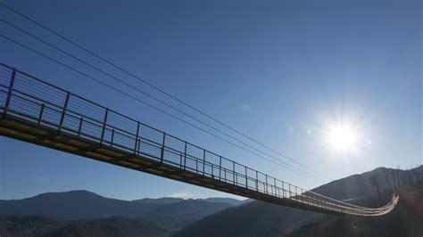 bridge  people  walk   sky  tennessee