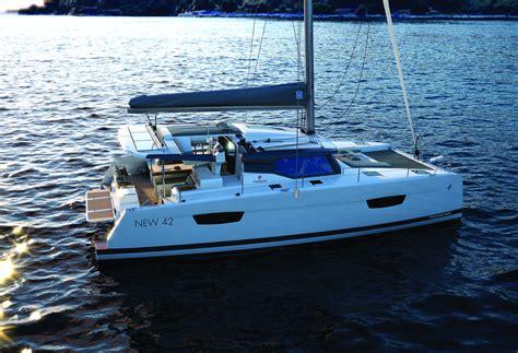 Catamaran News by Caribbean Multihulls Breaking News New 42 Fountaine