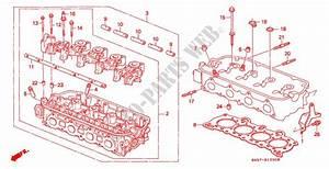 Cylinder Head For Honda Cars Civic Shuttle Gl 5 Doors 5