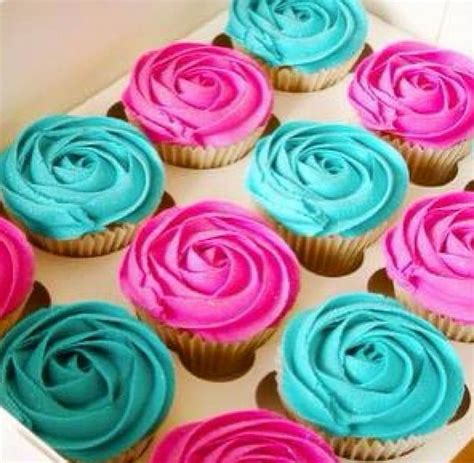 Best 25+ Teal Cupcakes Ideas On Pinterest  Turquoise Cake
