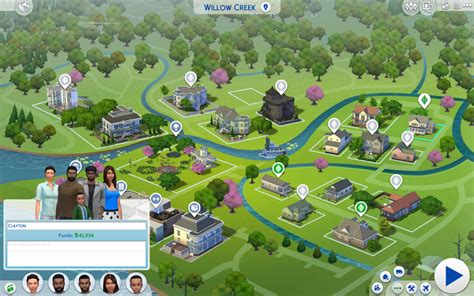 sims  update  pool venues  colored world