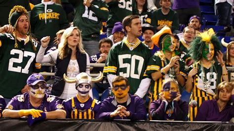 biggest rival    nfl teams green bay packers