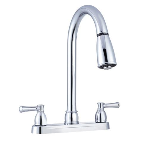 rv kitchen faucet replacement dura faucet non metallic dual lever pull down rv kitchen faucet replacement faucet for