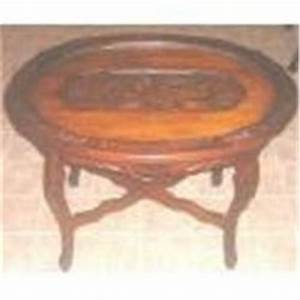 vintage oval glass tray top coffee table carved1073476 With antique coffee table with glass tray top
