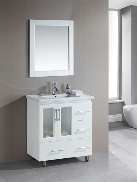 stanton single bath vanity white