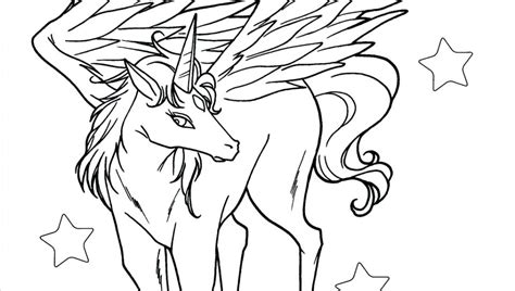 Coloring Pages Of Pegasus