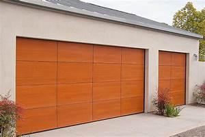 porte de garage pvc budget maisoncom With porte de garage en pvc