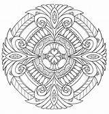 Coloring Adults Printable Adult Mandala Mandalas Pdf Books Patterns Pure Favecrafts Malvorlagen Coloriage Colouring Colorir Desenhos Ausmalen Geometric Animal Pintar sketch template