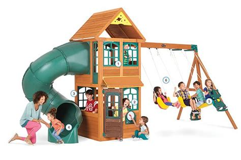 Best Images About Backyard Playsets On Pinterest
