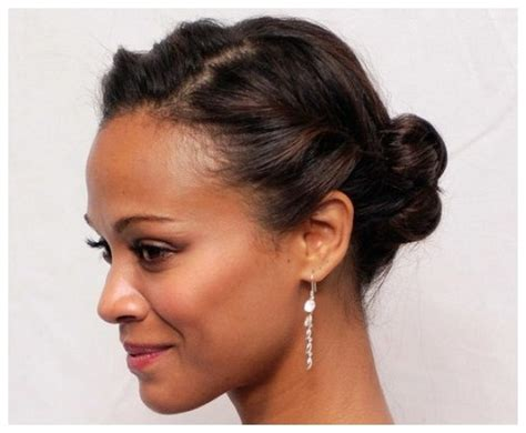 cute updos for short hair african american sophie