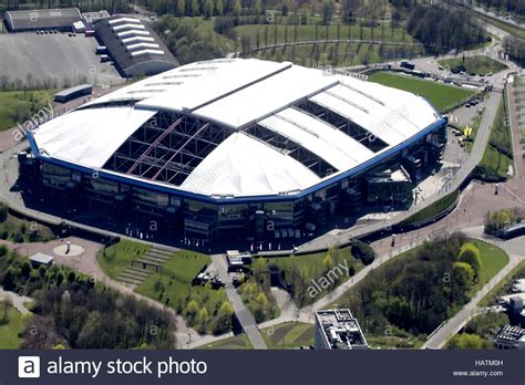 The north macedonia international will wear the no. Football Stadium Veltins Arena / Schalke 04 Stock Photo - Alamy