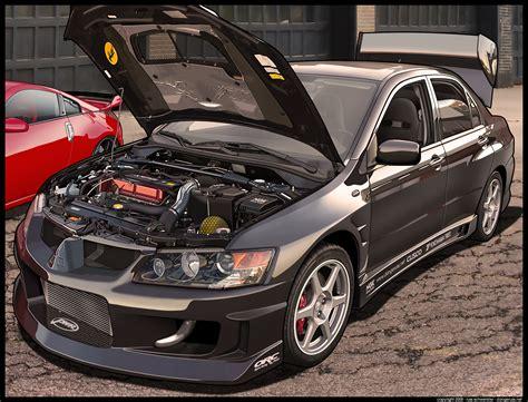 Black Mitsubishi Evo by Black Mitsubishi Evo By Dangeruss On Deviantart