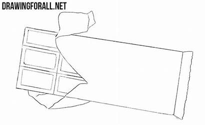 Chocolate Bar Draw Drawing Step Drawingforall
