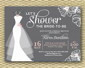 wedding dress bridal shower invitation dress on hanger any With wedding dress bridal shower invitations