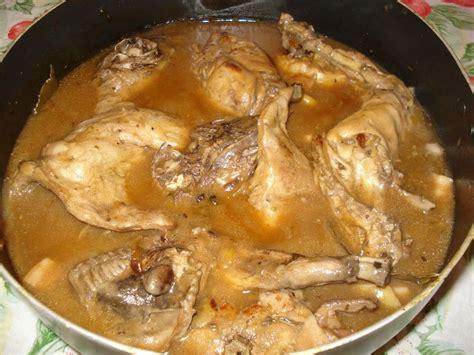 cuisine un lapin ma gibelotte de lapin cuisine en fête de gabrielle