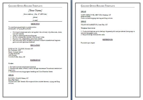 Resume Skills For A Cashier by Cashier Resume Skills Berathen