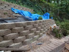 cost to install retaining wall outdoor retaining wall drainage some ways to give the right drainage for your retaining wall