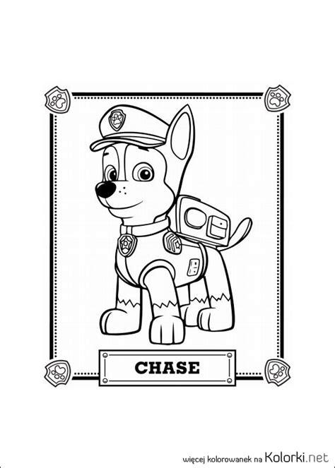 kolorowanka pies psi patrol