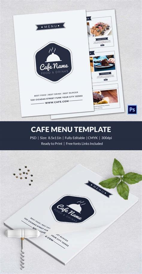Templates, restaurant menu, restaurant menu template, simple menus. Cafe Menu Template - 40+ Free Word, PDF, PSD, EPS, InDesign Format Download! | Free & Premium ...