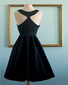 Audrey hepburn breakfast at tiffany's black dress vintage ...