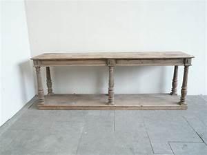 Table De Drapier : table drapier double plateaux en orme ~ Teatrodelosmanantiales.com Idées de Décoration