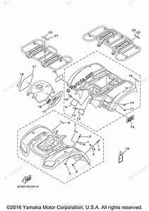 Yamaha Atv 2006 Oem Parts Diagram For Emblem