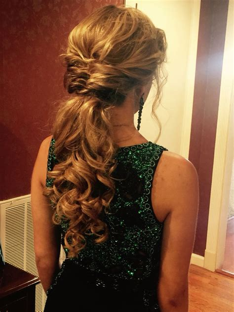 Dressy Updo Hairstyles by Low Pony For Prom Ponytail Hairstyle Prom Wedding
