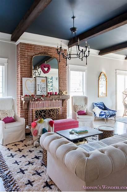 Living Decor Whimsical Elegant Colorful Decorating Valentine