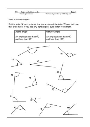 13 best images of measuring angles worksheets measuring