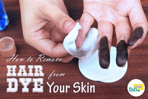 How To Remove Hair Dye From Skin With 1 Simple Ingredient