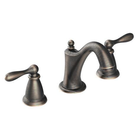 Shop Moen Caldwell Mediterranean Bronze 2 Handle